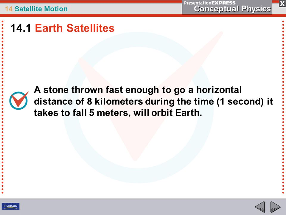 14.1 Earth Satellites