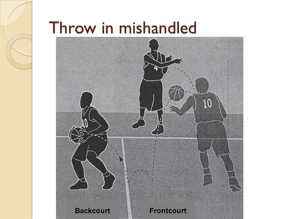 Throw in mishandled Backcourt Frontcourt