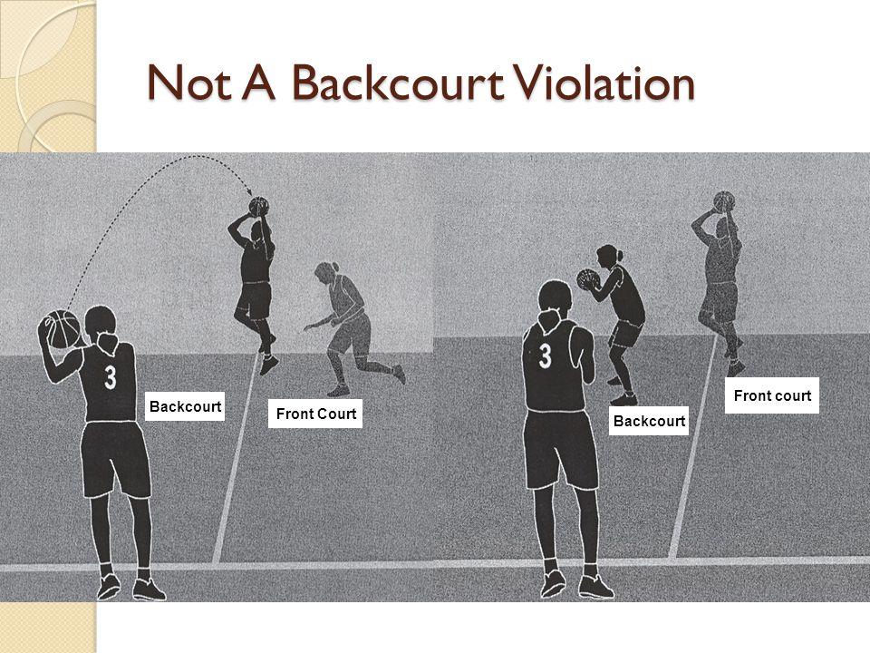Not A Backcourt Violation