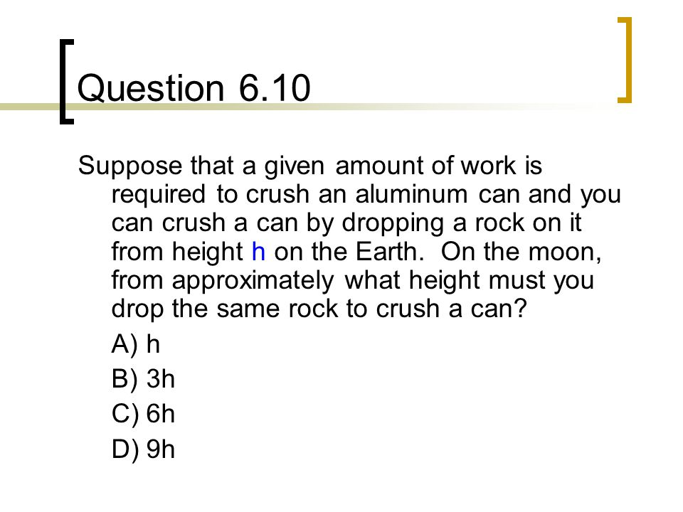 Question 6.10
