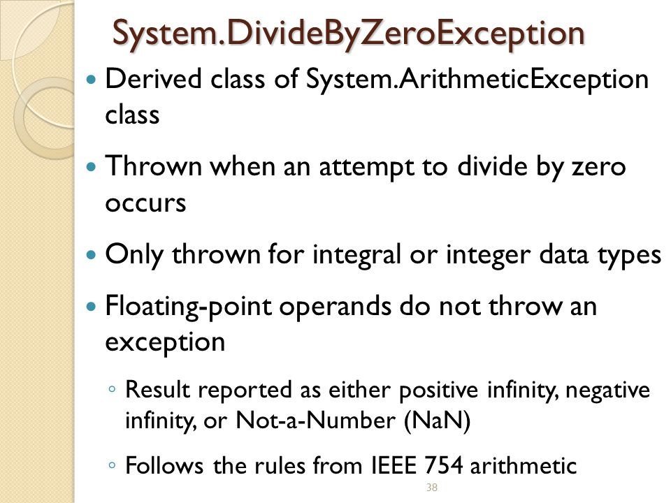 System.DivideByZeroException