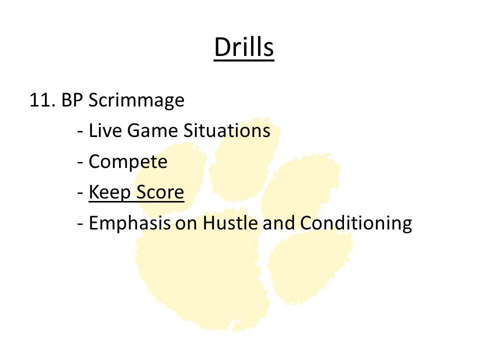 Drills 11.