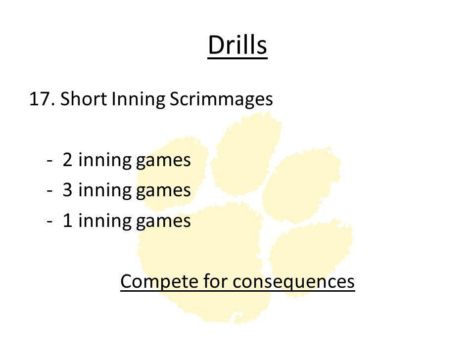 Drills 17.