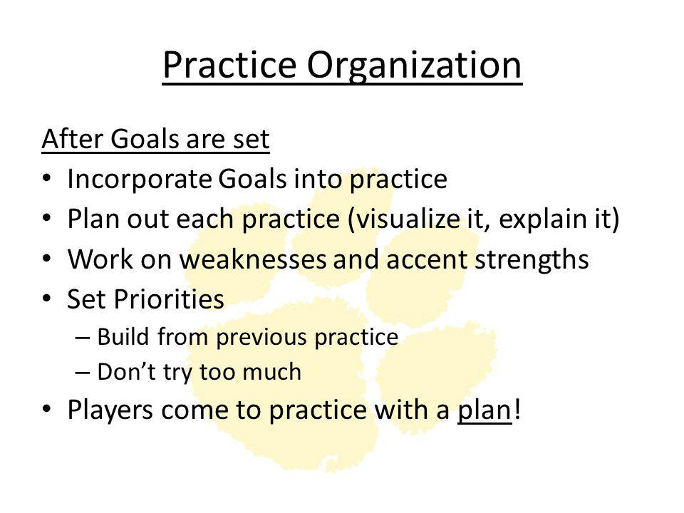 Practice Organization