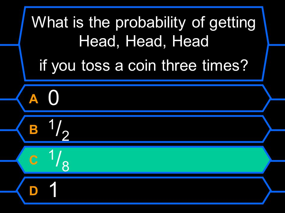 Flip coin 3 times probability of heads video / Le bon coin