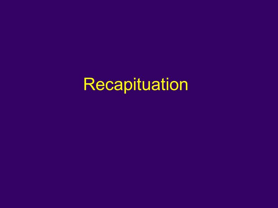Recapituation
