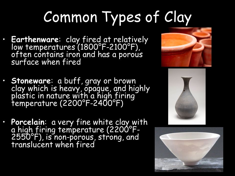 Non Firing Clay : Ceramics ppt video online download