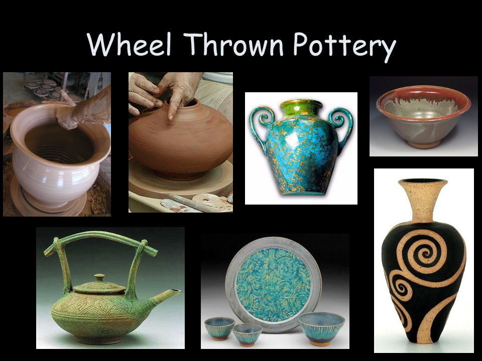 Wheel Thrown Pottery