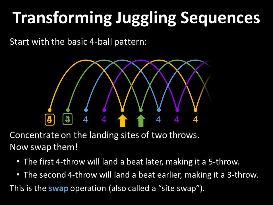 Transforming Juggling Sequences