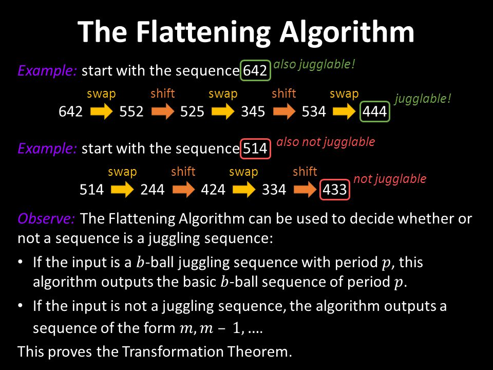 The Flattening Algorithm
