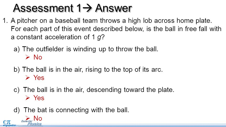 Assessment 1 Answer