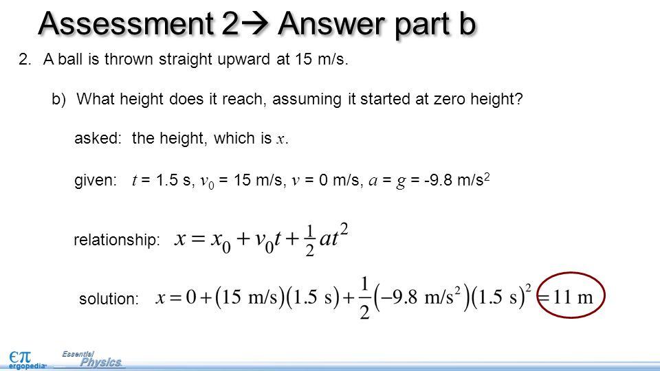 Assessment 2 Answer part b