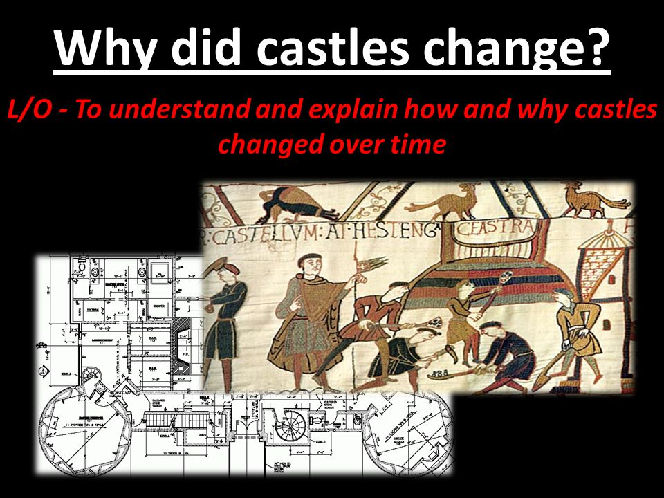 L/O - To understand and explain how and why castles changed over time