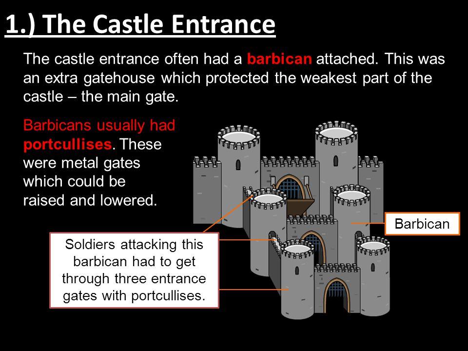 1.) The Castle Entrance