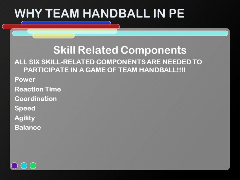 Skill Related Components