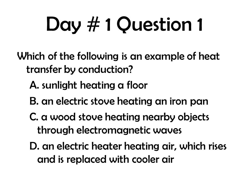 Day # 1 Question 1