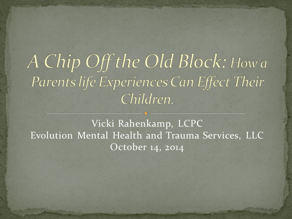 Evolution Mental Health and Trauma Services, LLC