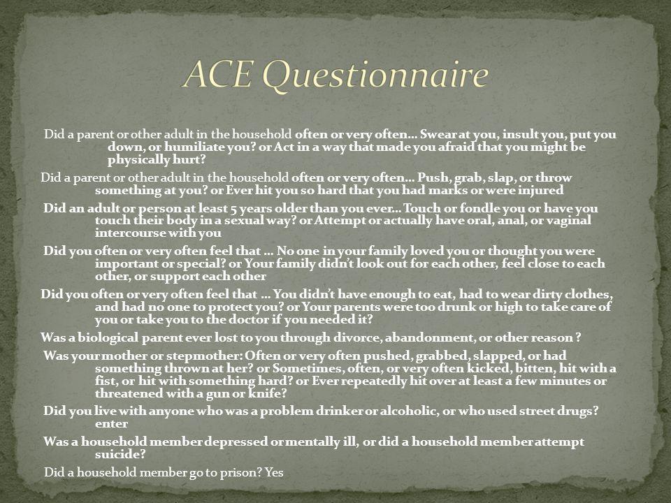 ACE Questionnaire