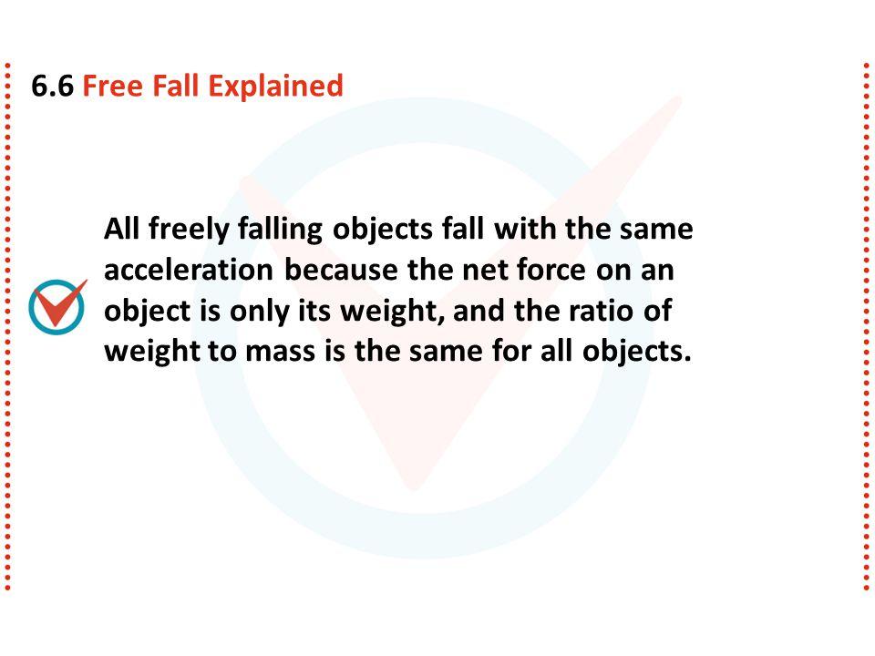 6.6 Free Fall Explained