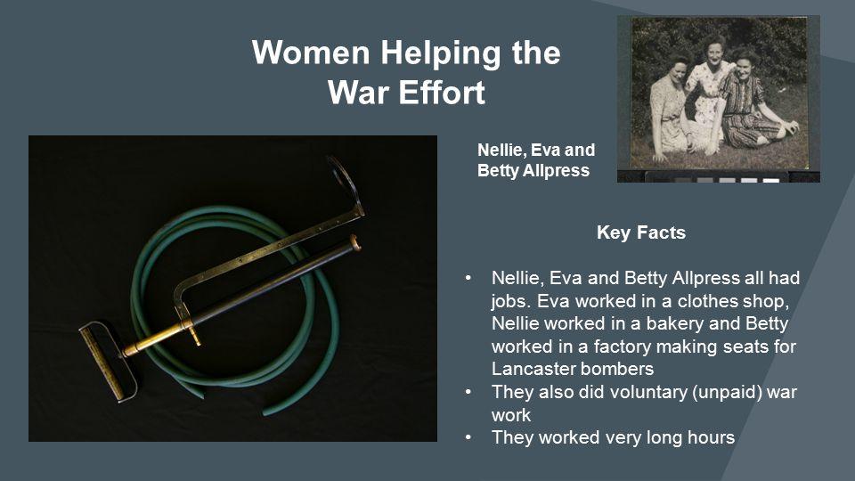 Women Helping the War Effort