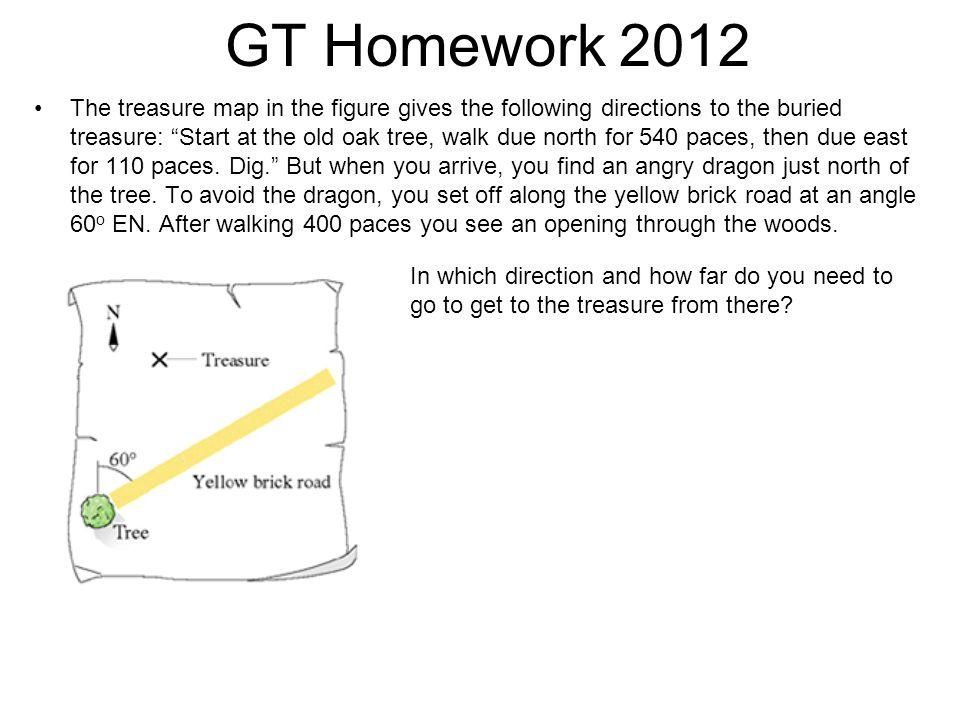 GT Homework 2012