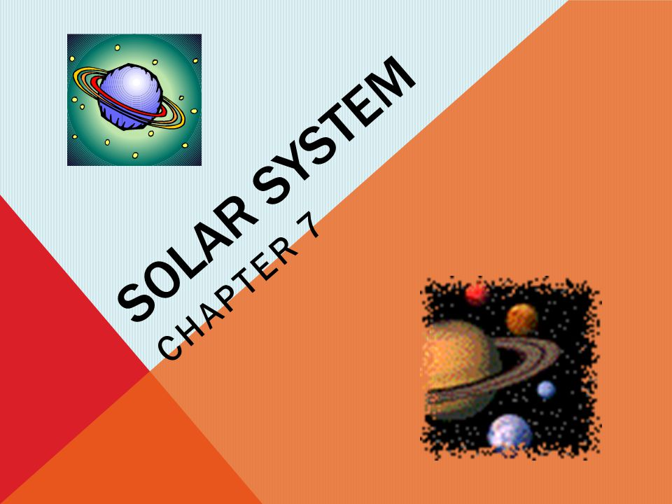 Solar system Chapter 7
