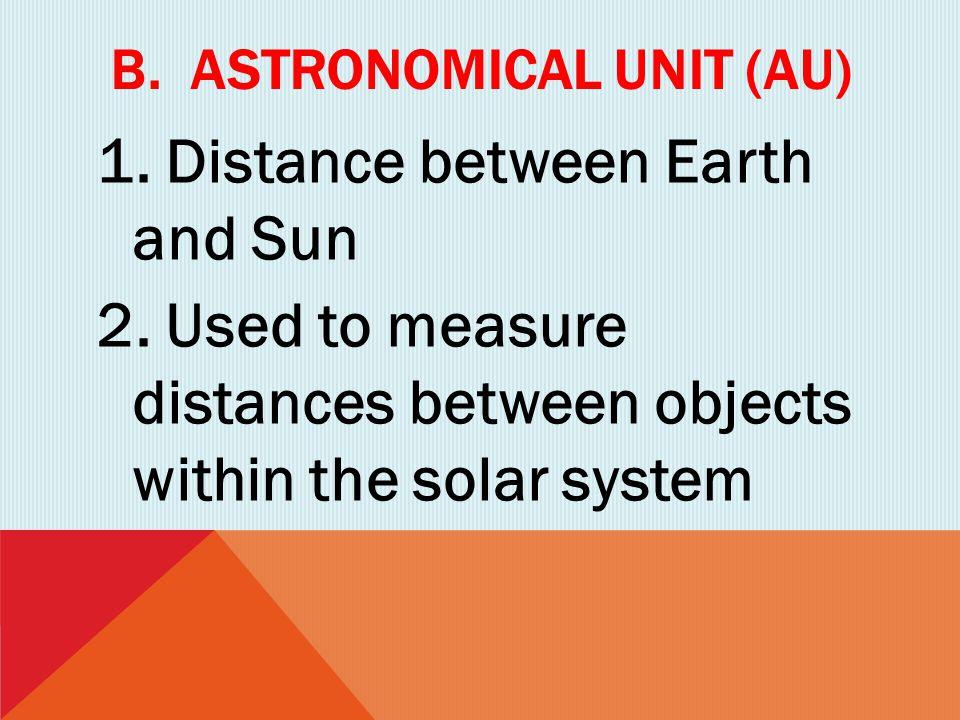 B. Astronomical unit (au)