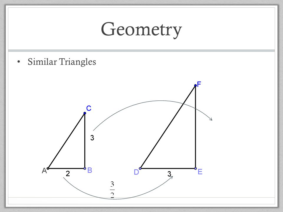 Geometry Similar Triangles Ted