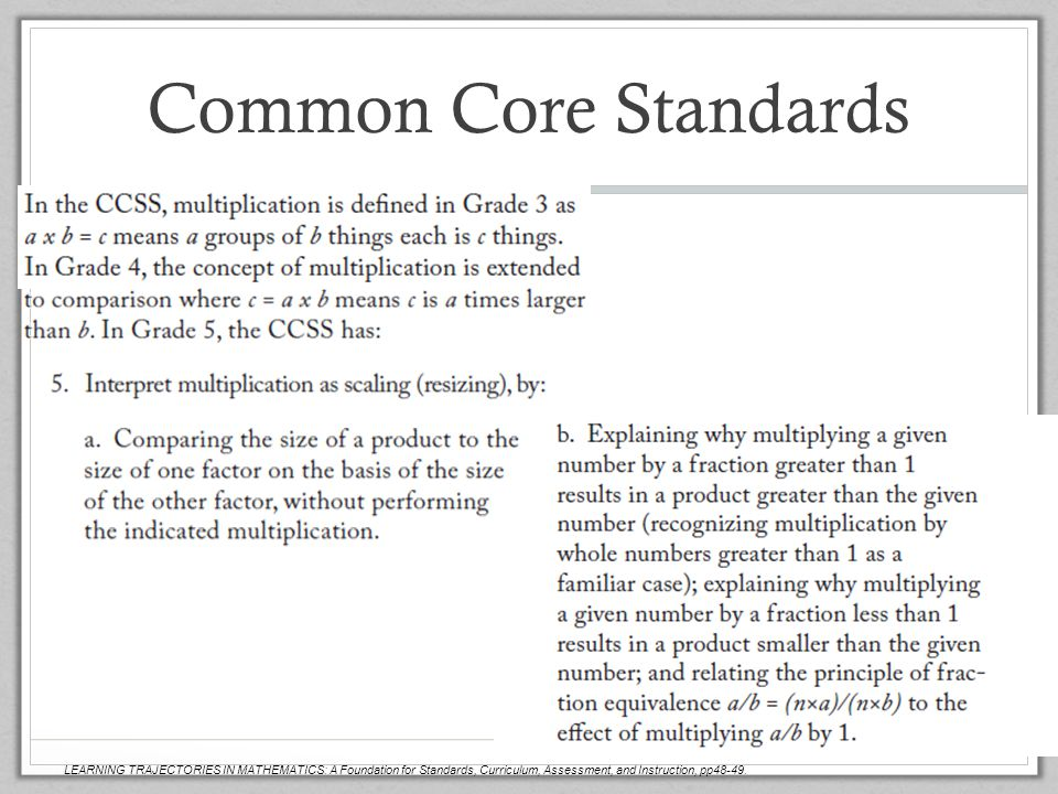 Common Core Standards Scott