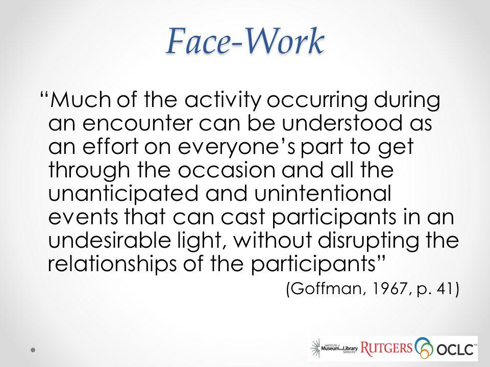 Face-Work