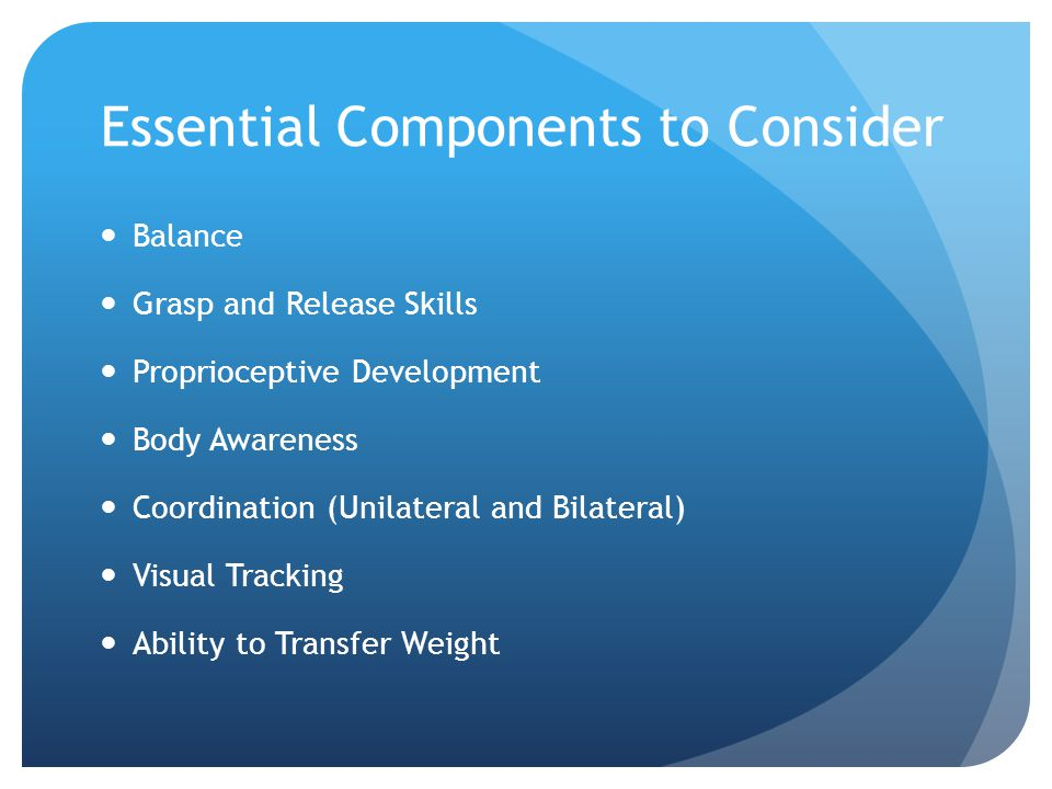 Essential Components to Consider