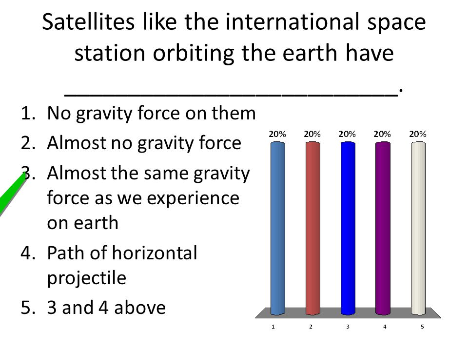 Satellites like the international space station orbiting the earth have __________________________.