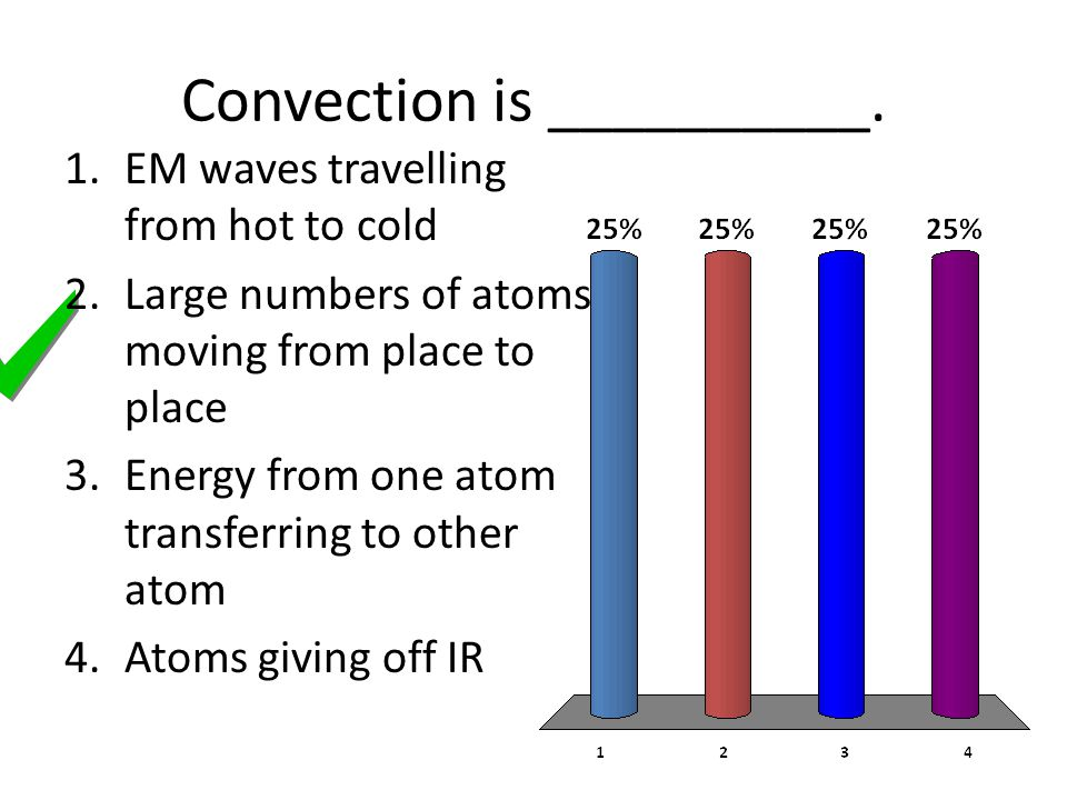 Convection is __________.