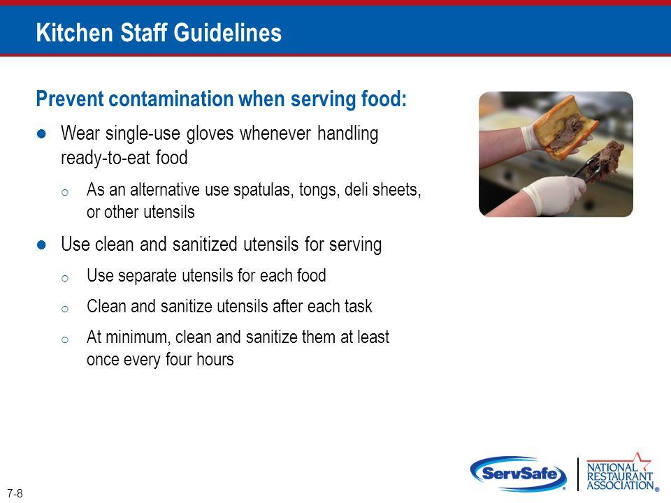 Kitchen Staff Guidelines