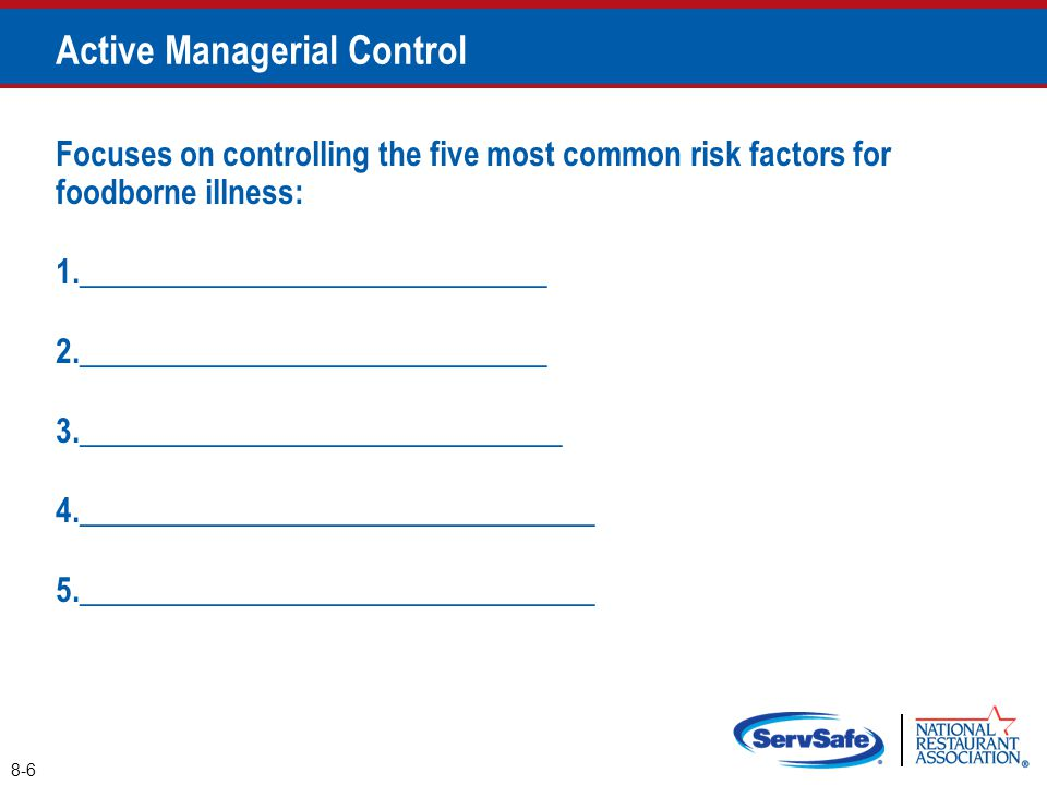 Active Managerial Control