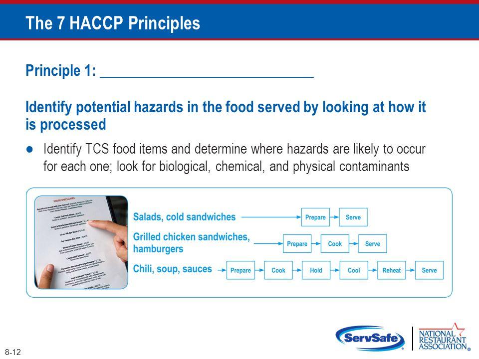 The 7 HACCP Principles Principle 1: _____________________________