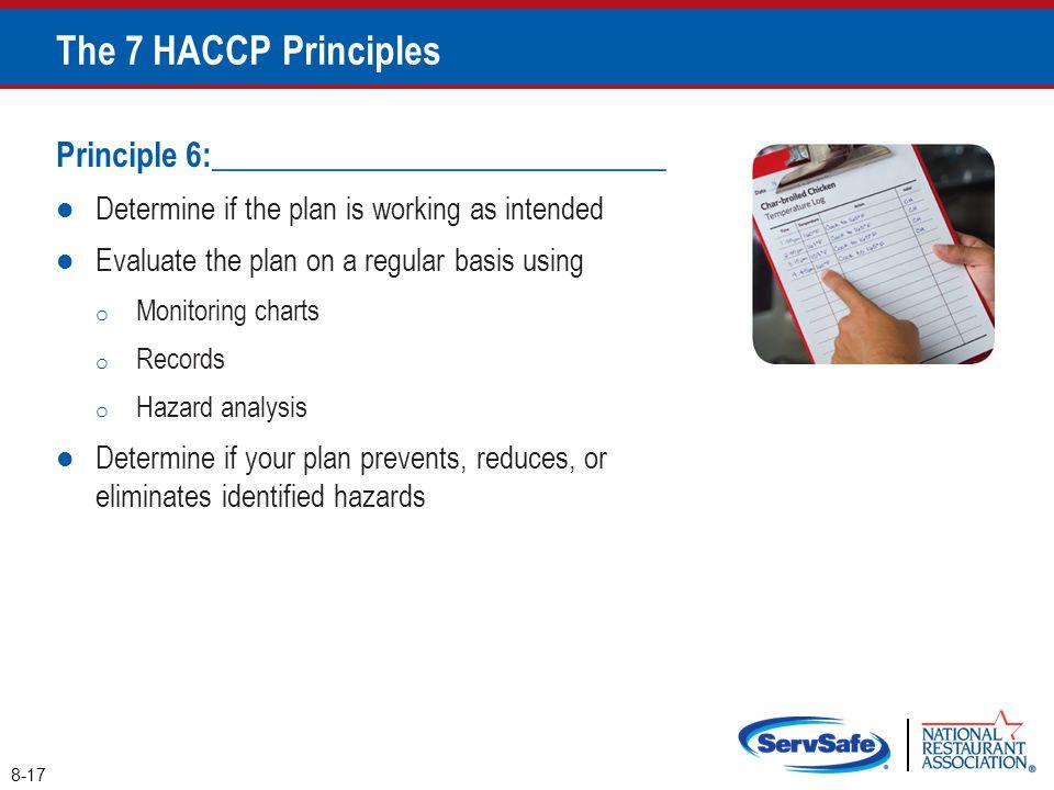 The 7 HACCP Principles Principle 6:____________________________