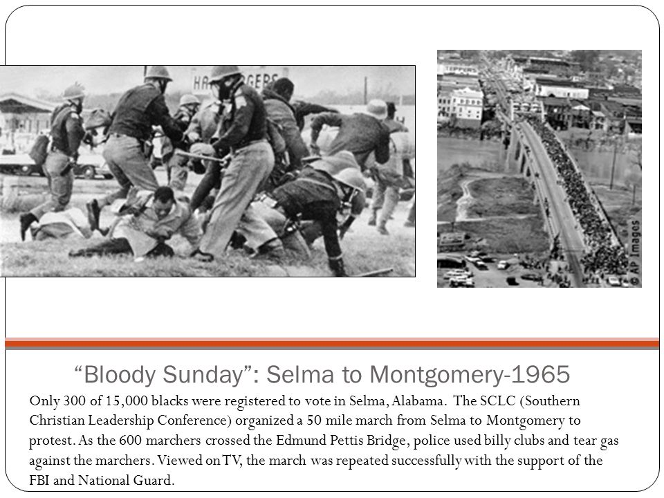 Bloody Sunday : Selma to Montgomery-1965