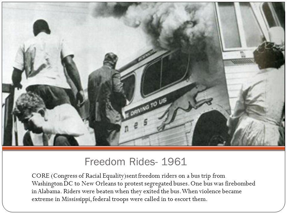 Freedom Rides- 1961