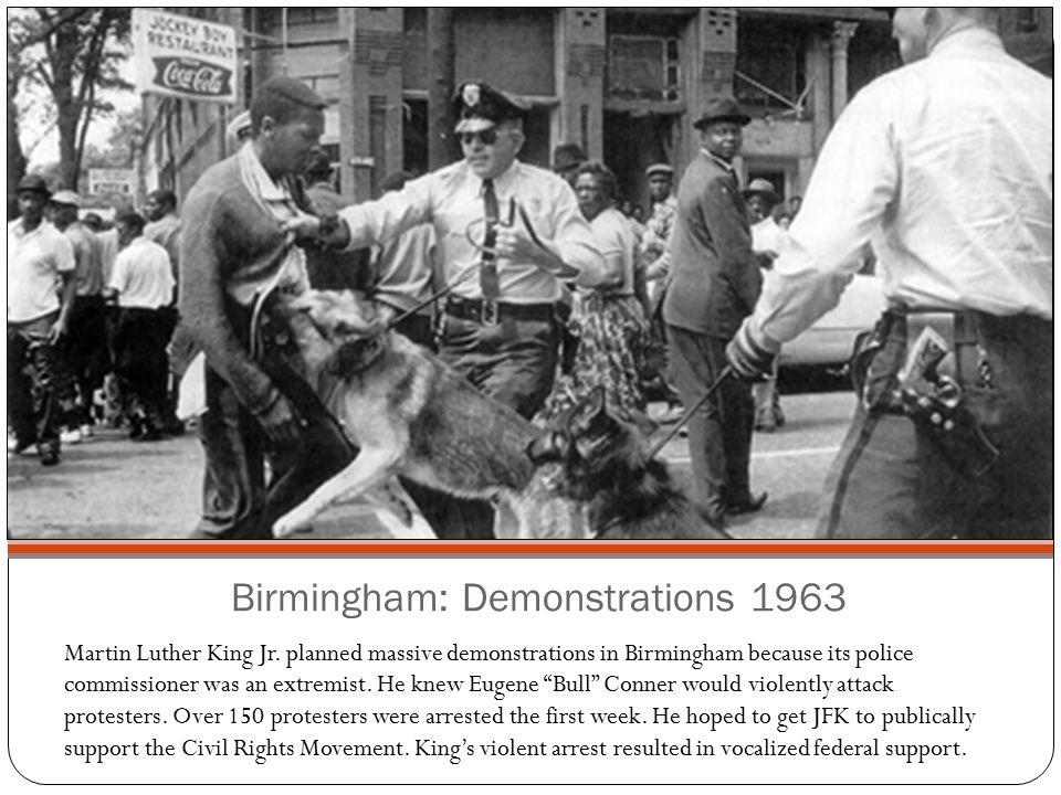 Birmingham: Demonstrations 1963