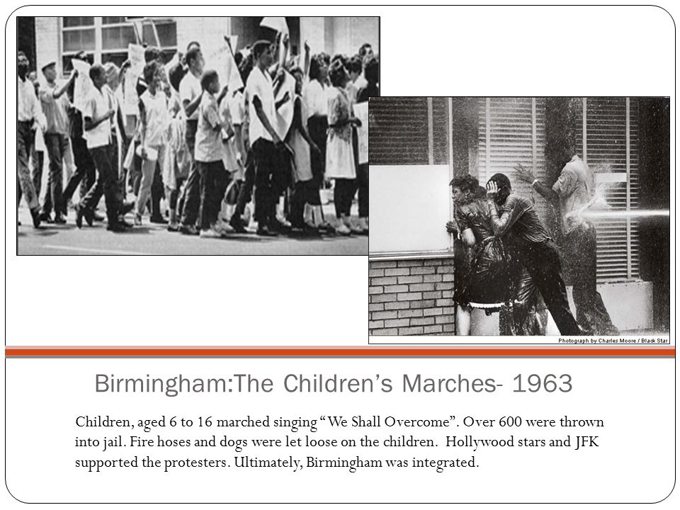 Birmingham:The Children's Marches- 1963
