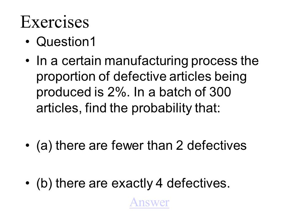 Exercises Question1.