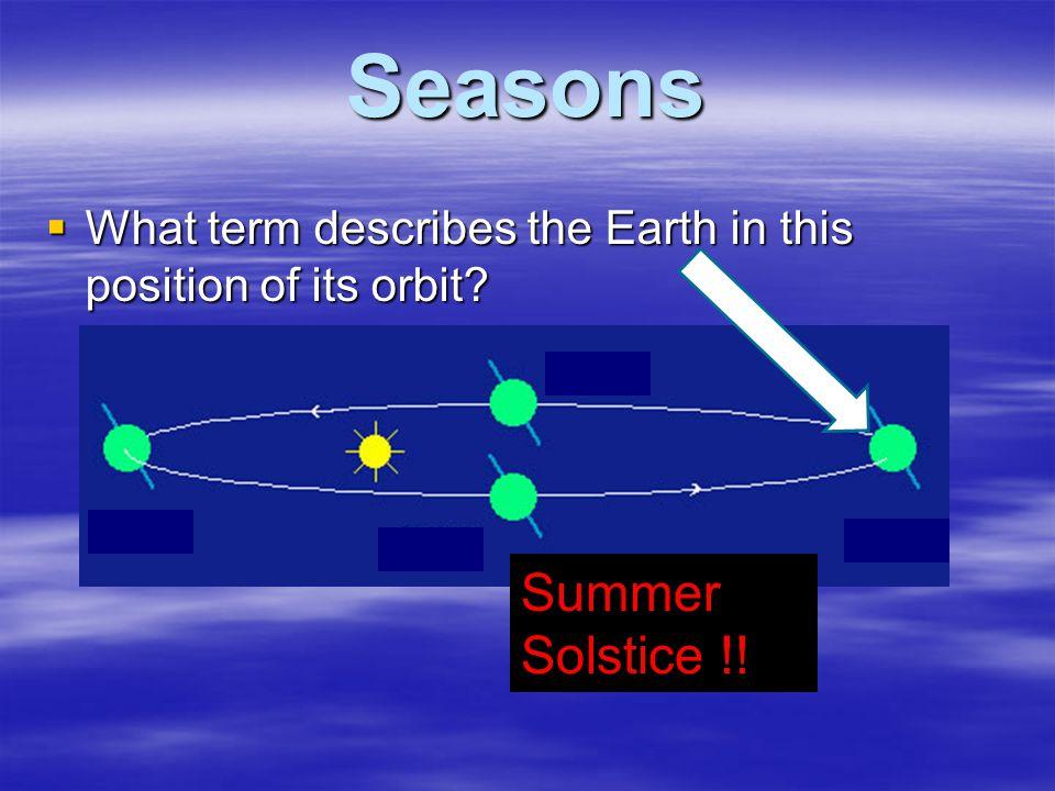 Seasons Summer Solstice !!