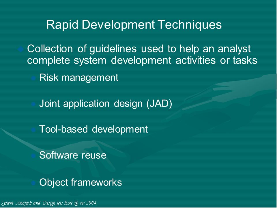 Rapid Development Techniques