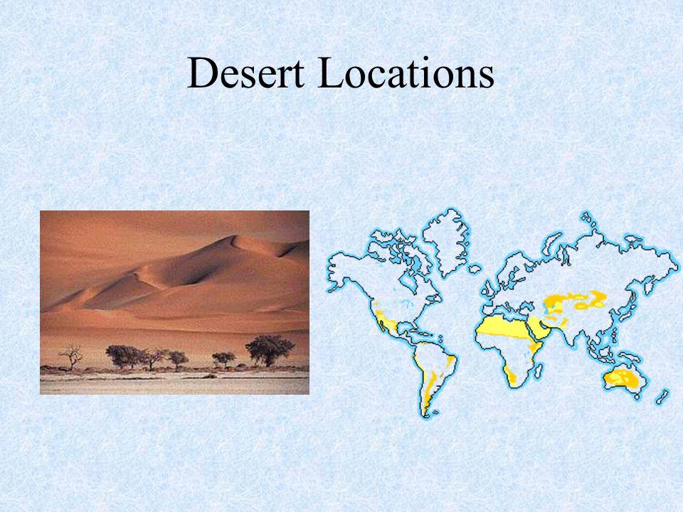 Desert Locations