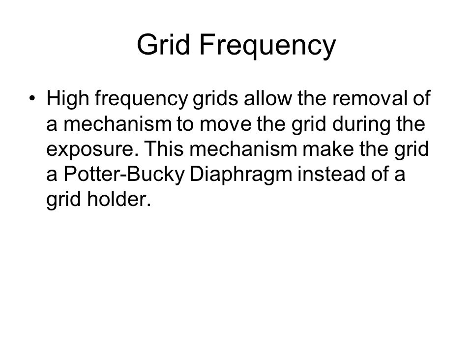 Grid Frequency