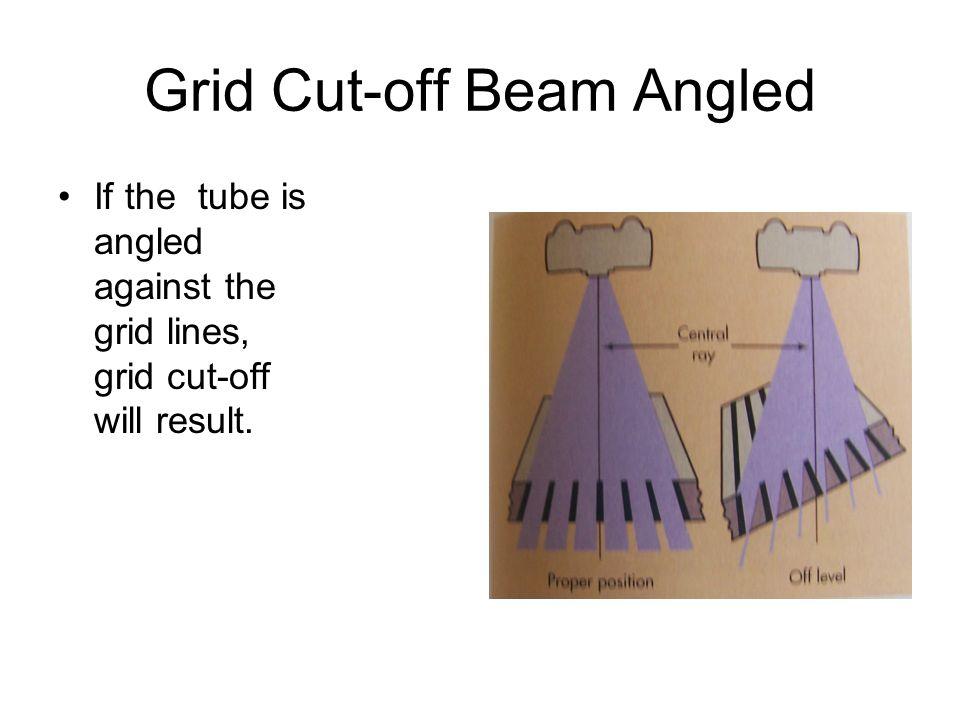 Grid Cut-off Beam Angled