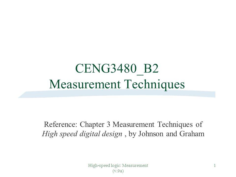 CENG3480_B2 Measurement Techniques