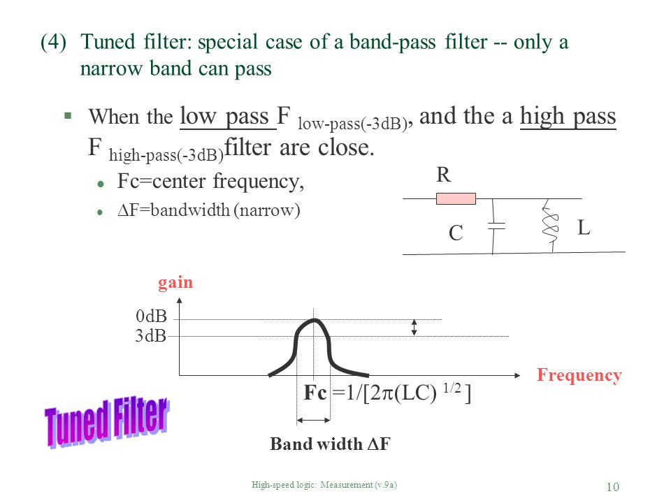 High-speed logic: Measurement (v.9a)