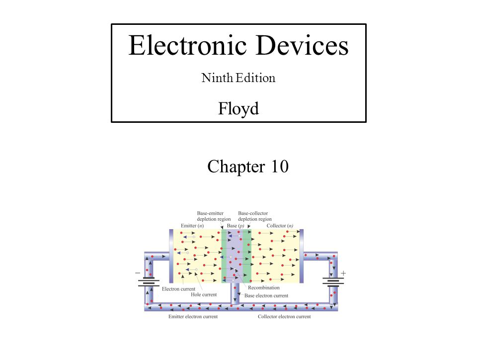 Electronic Devices Ninth Edition Floyd Chapter 10